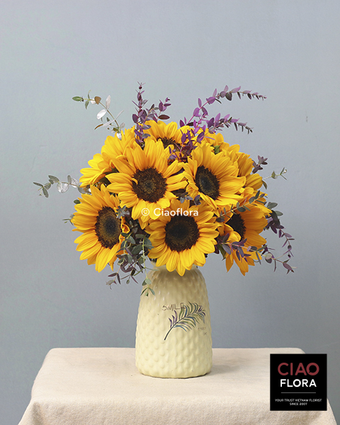 Perfect Sunflowers Bouquet
