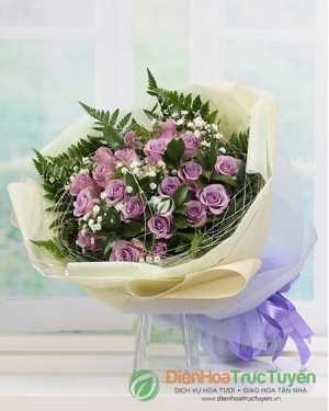 Bouquet of Lavender Rose