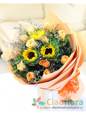 Sunflower Sunshine Bouquet