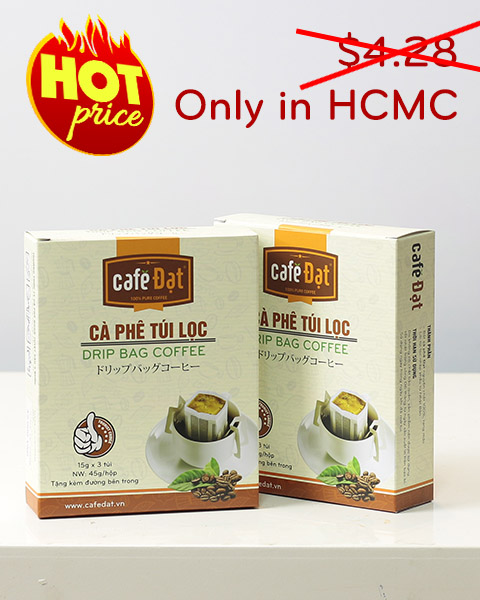 Premium Drip Bag Coffee