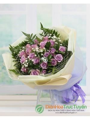 Bouquet of Lavender Rose